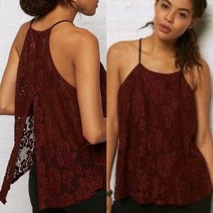 AEO Don't Ask Why lace tank top, OS